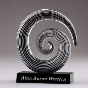 circular swirl awards