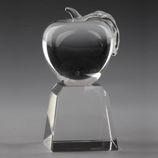 optical crystal apple awards