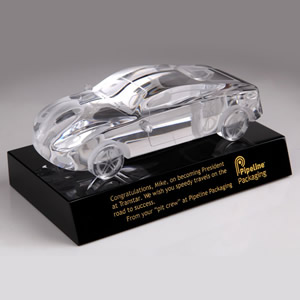 crystal car awards