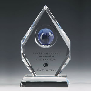 crystal diamond globe awards