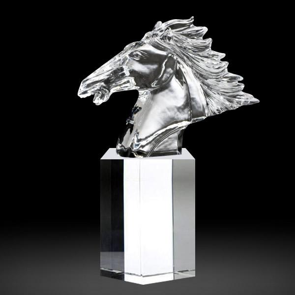 crystal horse head awards
