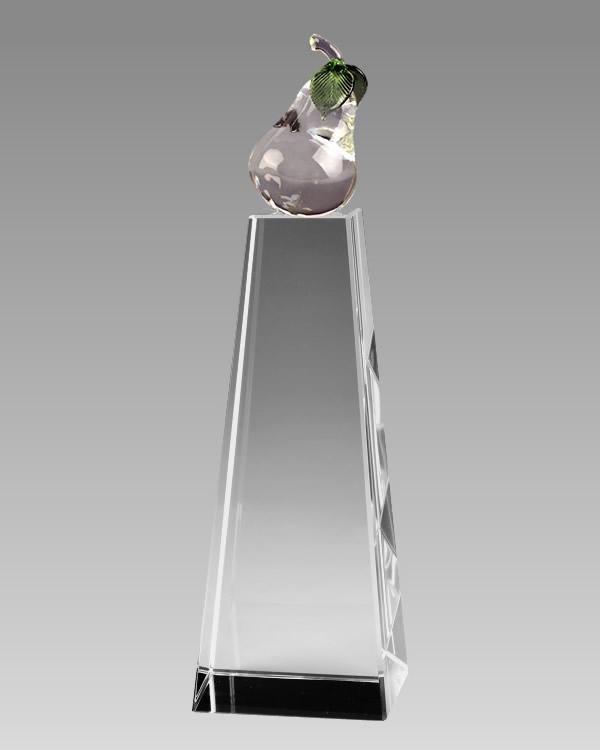 crystal pear tower awards