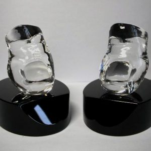 crystal toe paperweight awards