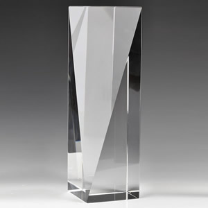 optical crystal column award