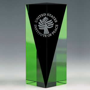 go green crystal awards