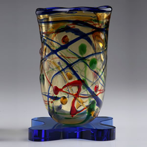 italian inspired art vase awards