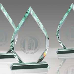 Faceted Crystal Diamond Award