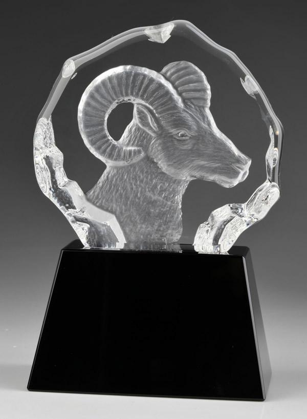 3d crystal ram awards