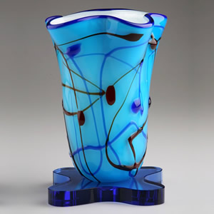 modern crystal art vase awards