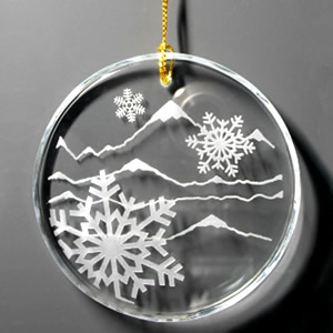 snowflake ornament gifts