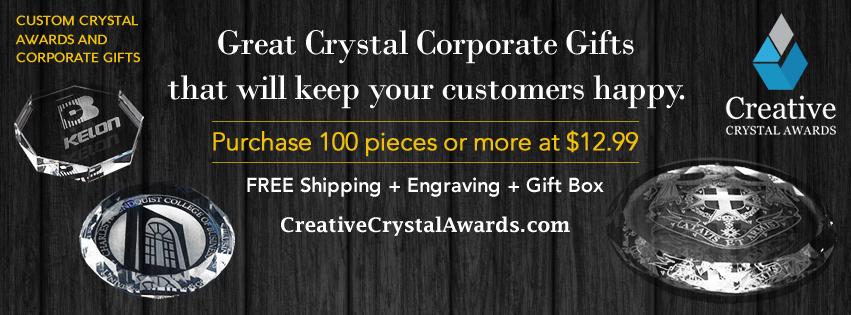 Crystal Paperweights Award