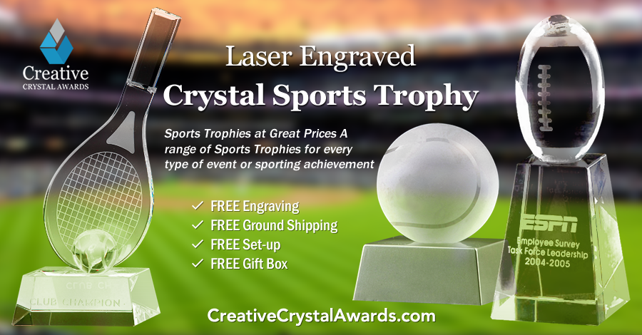 Story Behind Crystal Sports Awards and Glass Sports Trophies