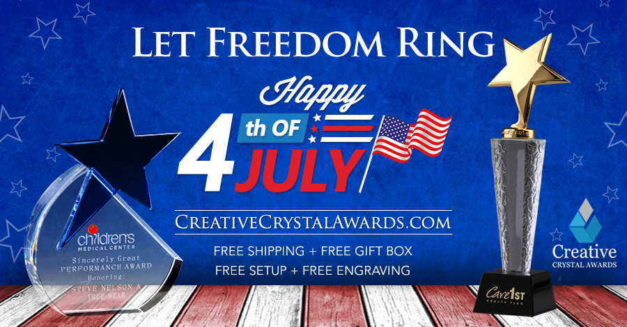 How A Stunning 4th July Crystal Award Turns To Be The Most Motivating Option