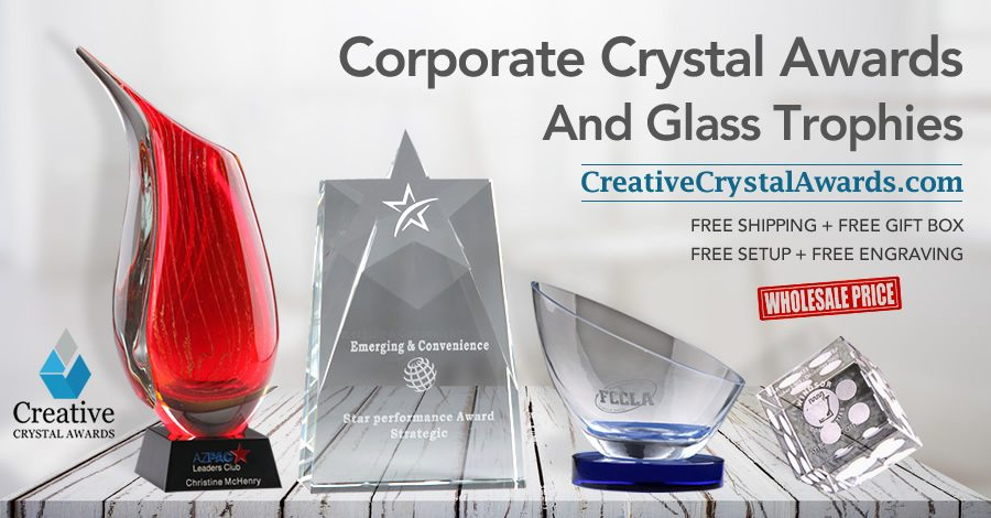 Crystal Awards or Glass Awards Which One Will You Choose