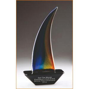 rainbow sailboat awards