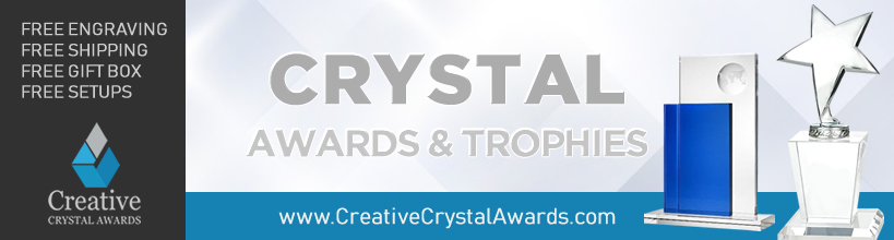 wholesale corporate crystal awards suppliers