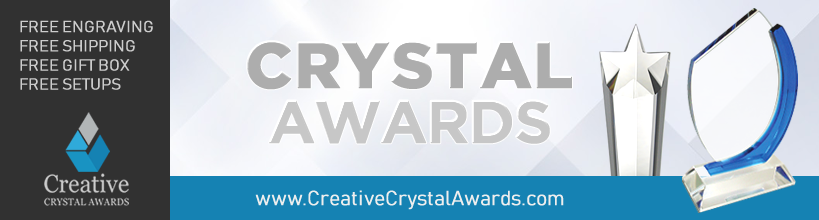 Corporate Crystal Awards Engraved Crystal Trophy Award Suppliers