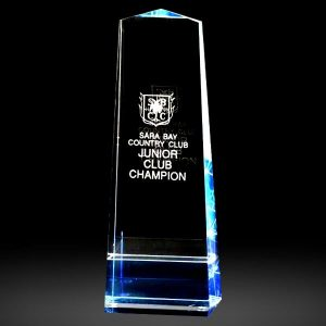 Optical Crystal Obelisk and Tower Awards
