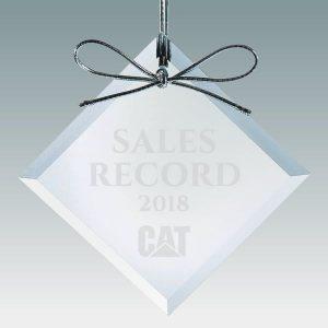 Crystal Diamond Christmas Ornaments Corporate Gifts