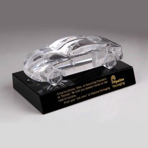Personalized Crystal Model Car Awards