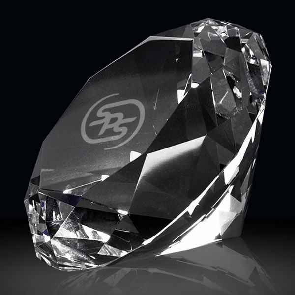 Personalized Crystal Diamond Paperweights Gift Awards