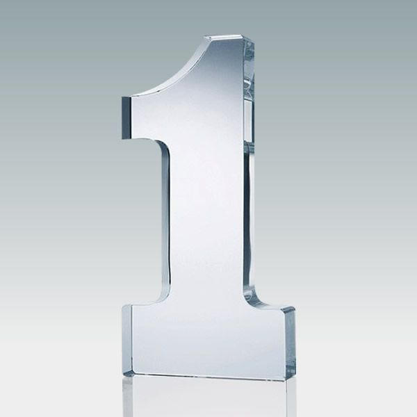 Personalized No.1 Crystal Awards