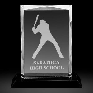 Personalized Rectangular Crystal Plaque Awards
