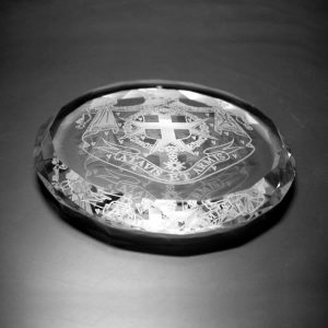 Diamond Faceted Crystal Paperweight Promotional Gifts {SKU: 71CP}