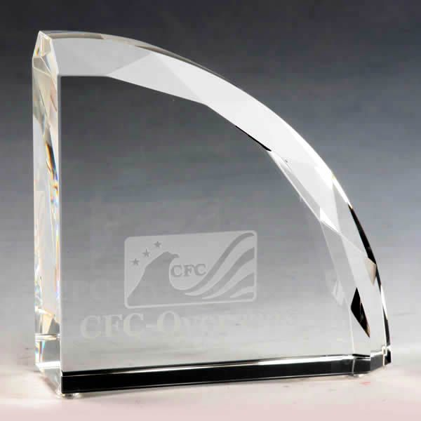 Crystal Faceted Bookends Appreciation Gifts