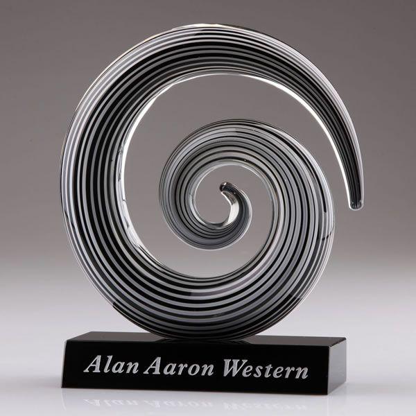 Swirl Art Glass Award