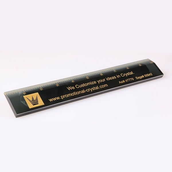 Personalized Crystal Ruler Corporate Gifts