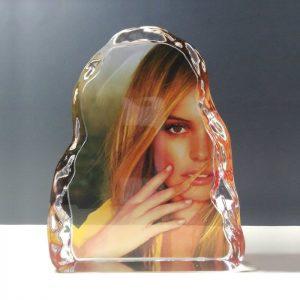 Sublimation Photo Frame Crystal Iceberg Awards