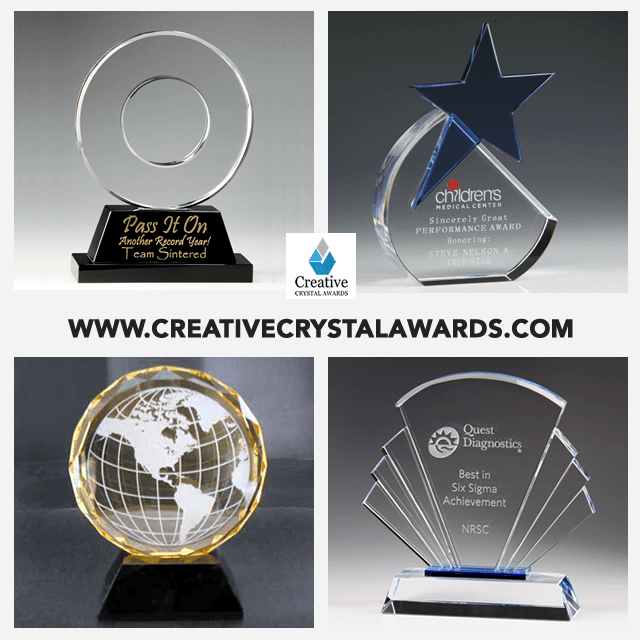 Corporate Crystal Recognition Awards