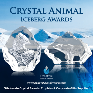 Crystal Iceberg Animal Trophy Awards