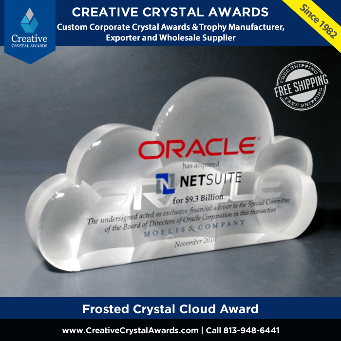 Frosted Crystal Cloud Award