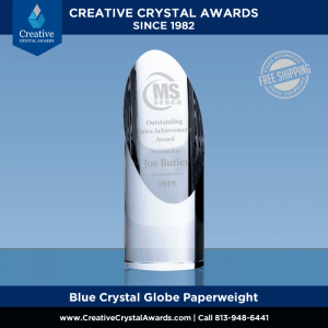 Optical Crystal Cylinder Tower Award