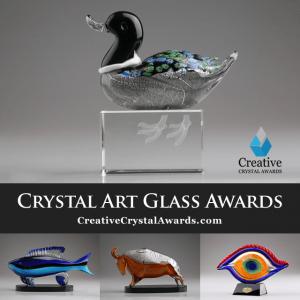 Hand Blown Art Glass Awards