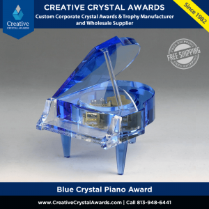 blue crystal piano award