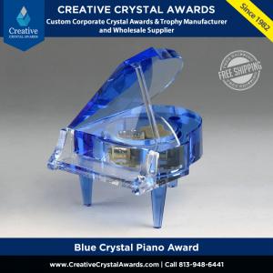 blue crystal piano award