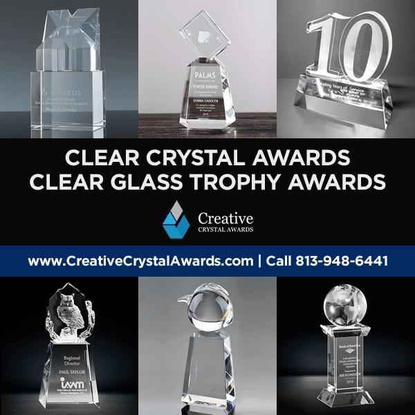 clear crystal awards clear glass awards clear optical crystal trophy awards wholesale