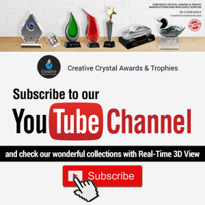 creative crystal awards youtube channel