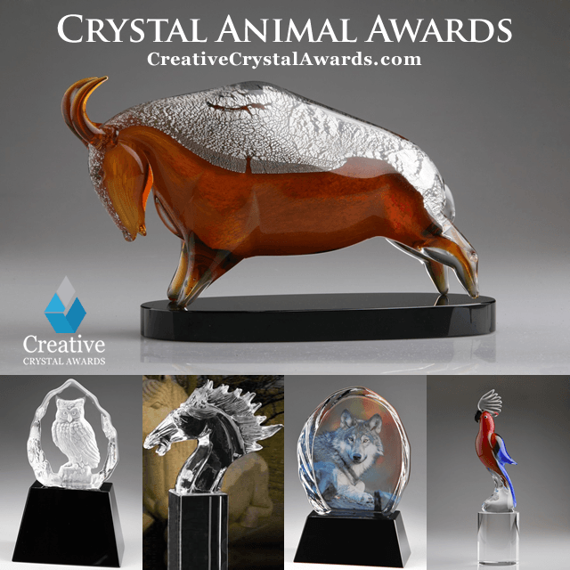 Crystal Animal Trophy Awards