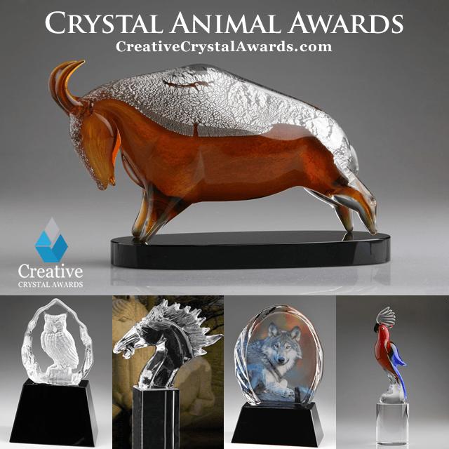 Crystal Animal Trophy Awards