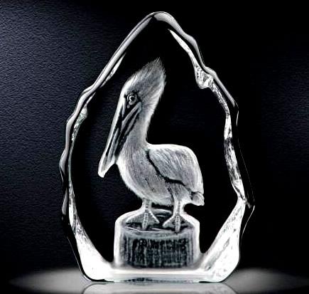 3D Crystal Pelican Award