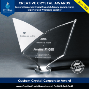 custom crystal awards custom corporate awards