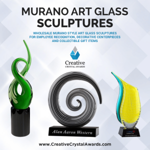 Murano Art Glass Sculpture Awards