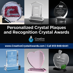 personalized crystal plaques custom crystal award plaques wholesale