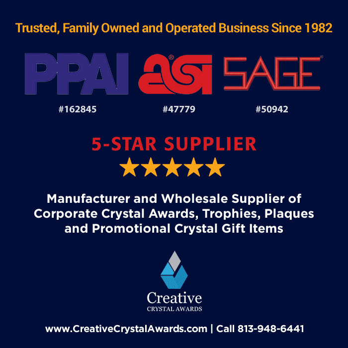 crystal award and trophy manufacturer and wholesale supplier