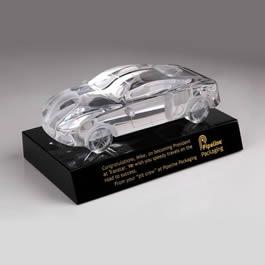 crystal car award