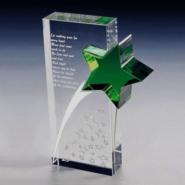 green star crystal award